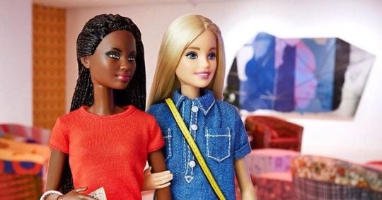 girl Gay barbie