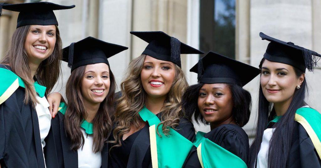 hardest majors college graduation girls