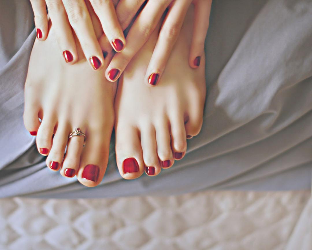 Дизайн ногтей руки ноги