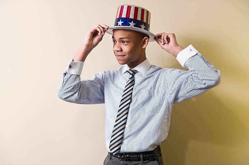 Meet CJ Pearson, the 14-year-old Trumpster watched by millions