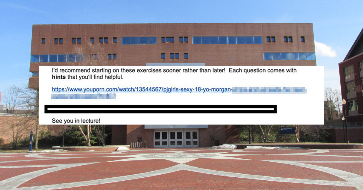 Philosophy Professor Accidentally Emails Students Link To Porn Video-7496