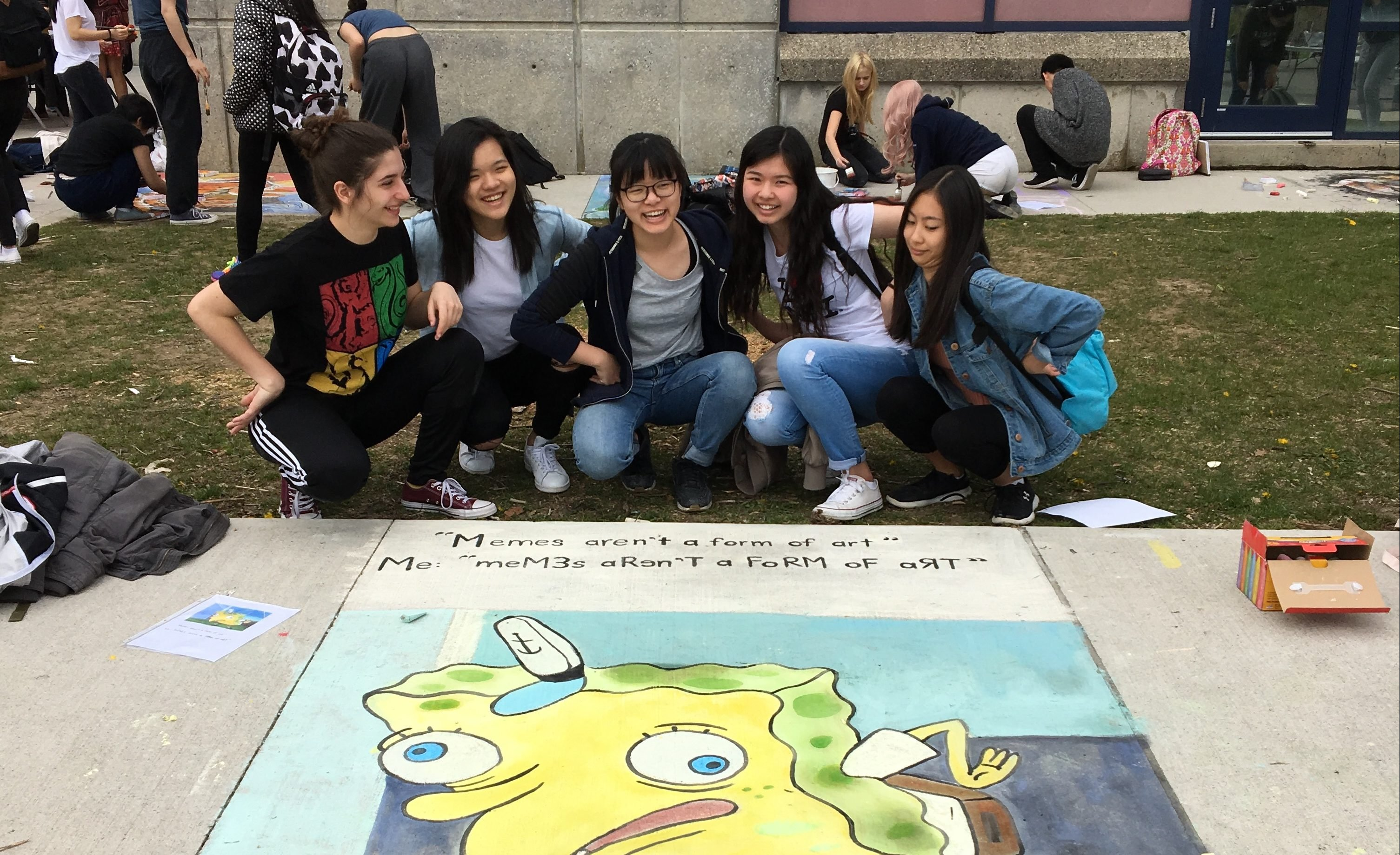 These high school students were told memes werent art so they entered an art contest using one