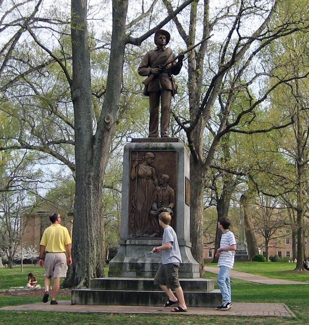A List Of Confederate Monuments On College Campuses That