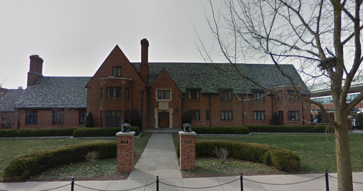 The now closed Beta Theta Pi house at Penn State