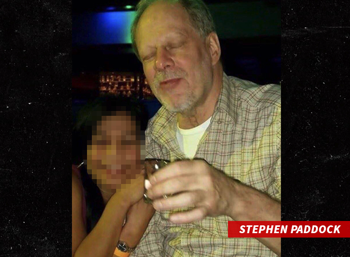 Las Vegas shooter Stephen Paddock poses with a shot – Image from TMZ.com