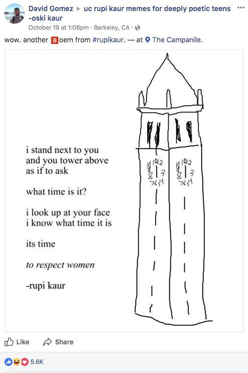 The best Rupi Kaur poems from meme groups across America