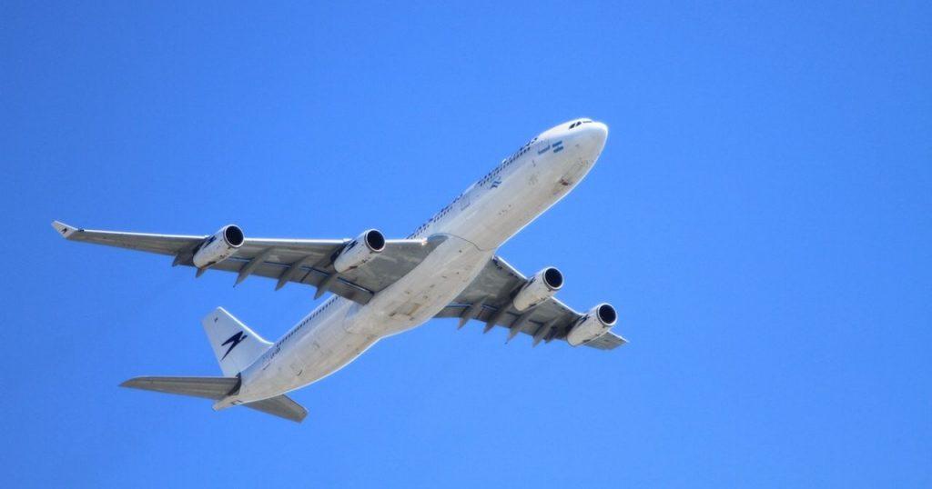 Image may contain: Airplane, Aircraft