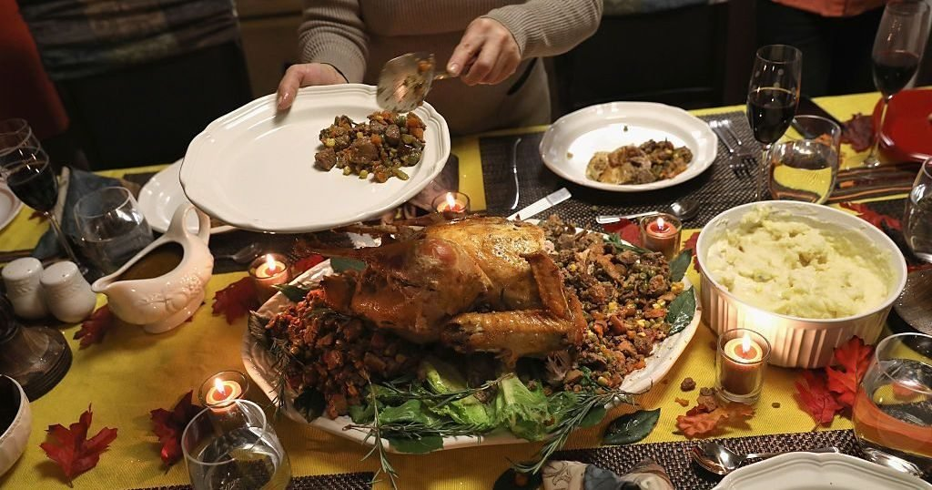 Image may contain: Turkey Dinner, Hot Pot, Cup, Supper, Meal, Food, Dinner, Bowl, Potted Plant, Plant, Glass