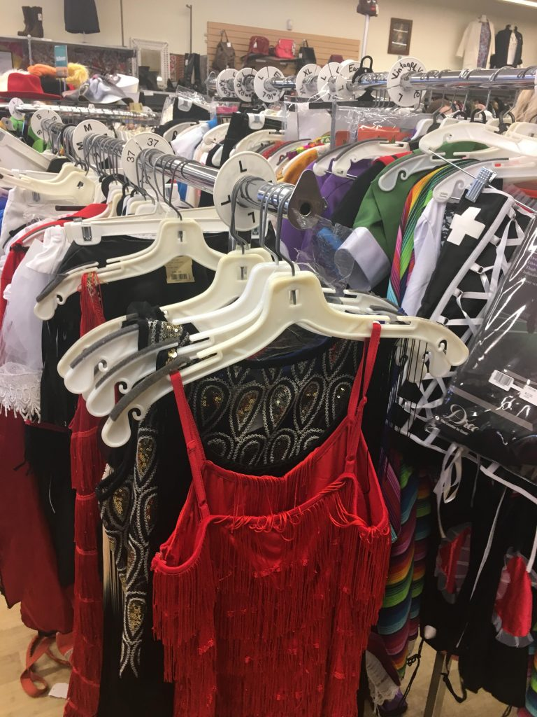 buffalo exchange is located further down harvard ave in allston and is a smaller thrift store but it has a large selection of halloween costumes at - Store For Halloween Costume