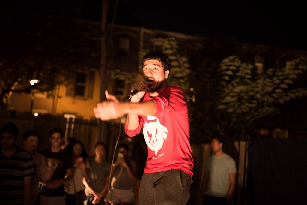 Kayvon performs at NSO + Phi Psi: LAWLapalooza 2015 - Photo credit: Markus Katz