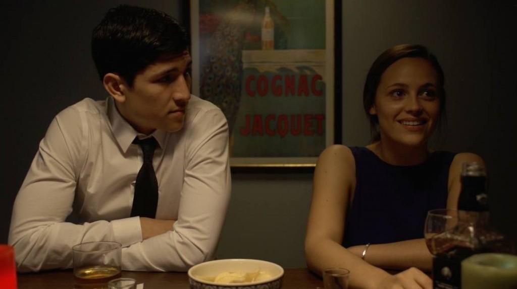 Danny Ramirez and girlfriend/Alum-Tischie Elizabeth Paige in a Stonestreet production