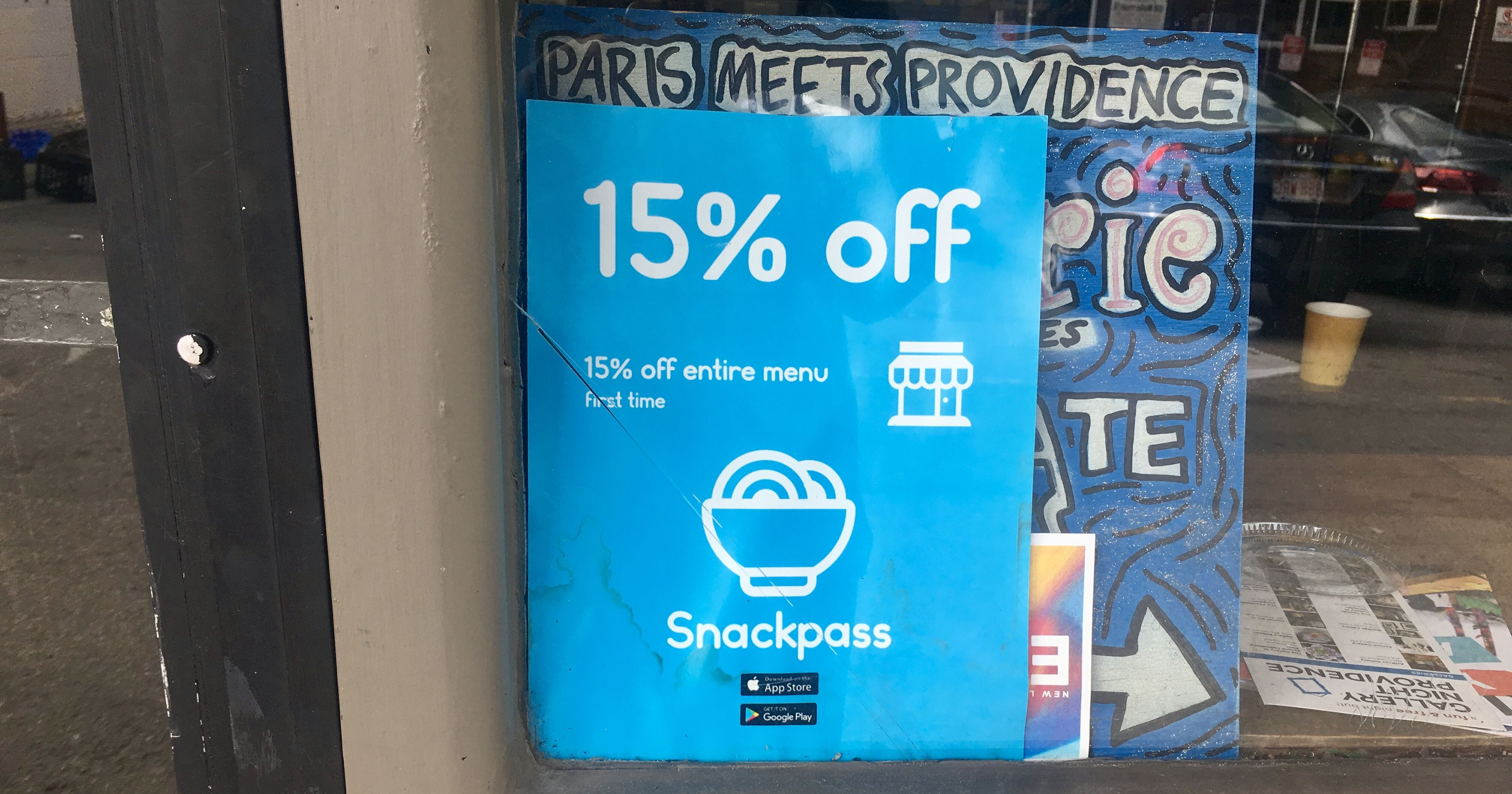 Snackpass app sweeps Thayer Street