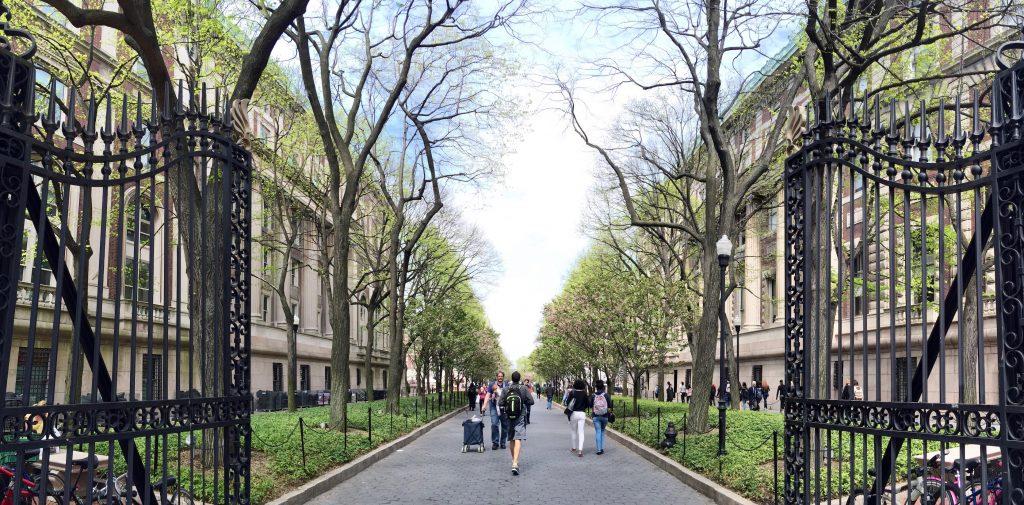 Columbia University Gates by Amaya Mangaldas
