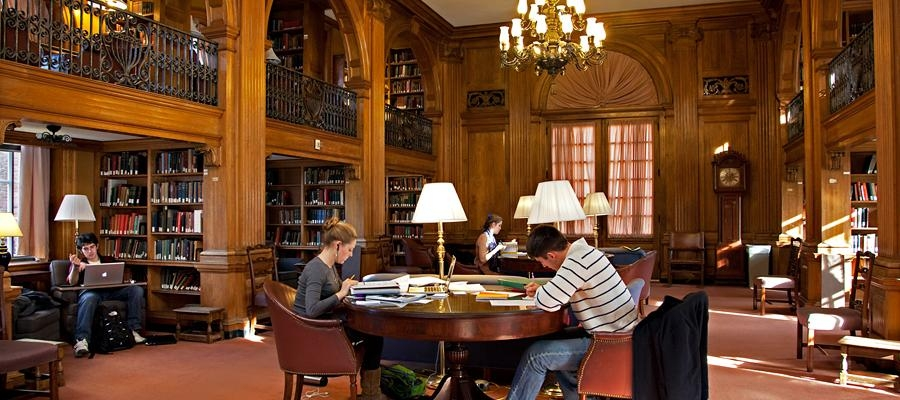 Dartmouth Library Study Room