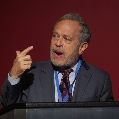Robert_Reich,_Policy_Network,_April_6_2009,_detail