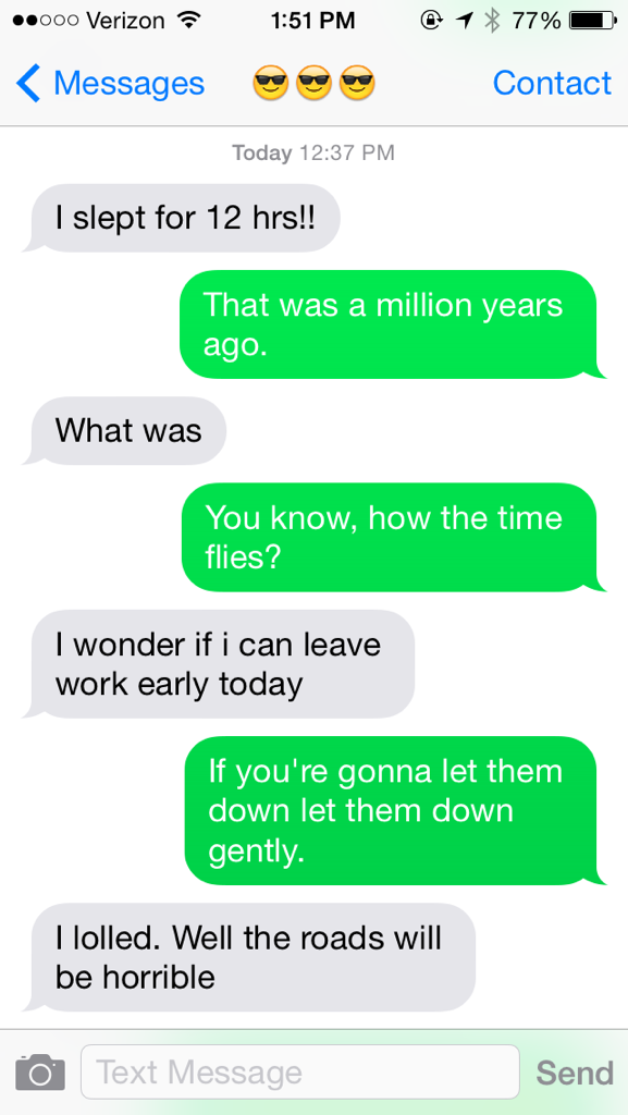 I texted people only using Adele lyrics and this is what happened