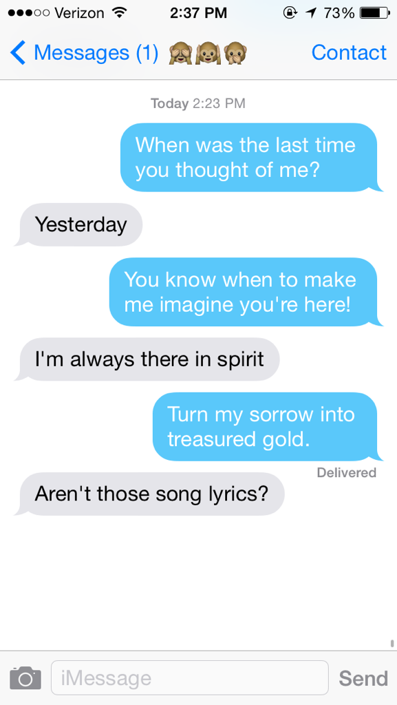 Lyric adele someone like you lyrics : I texted people only using Adele lyrics and this is what happened