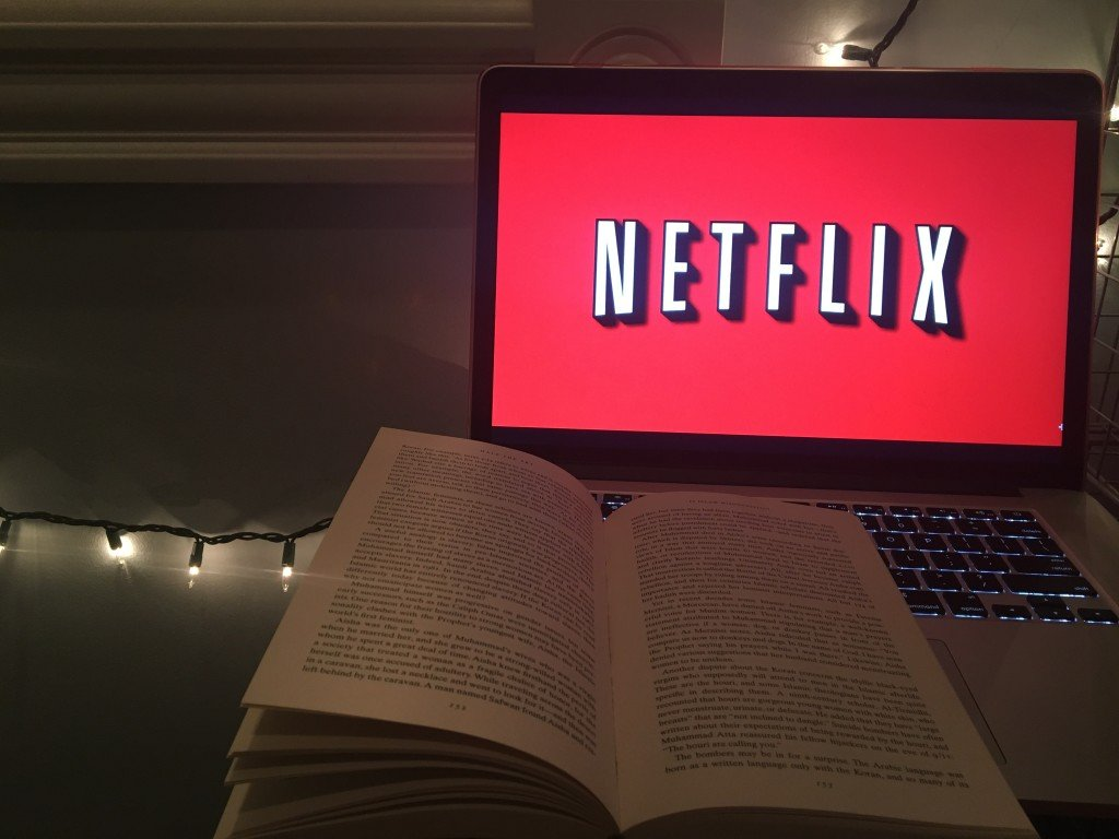 Which would you choose: Netflix & Chill or Reading & Chill?