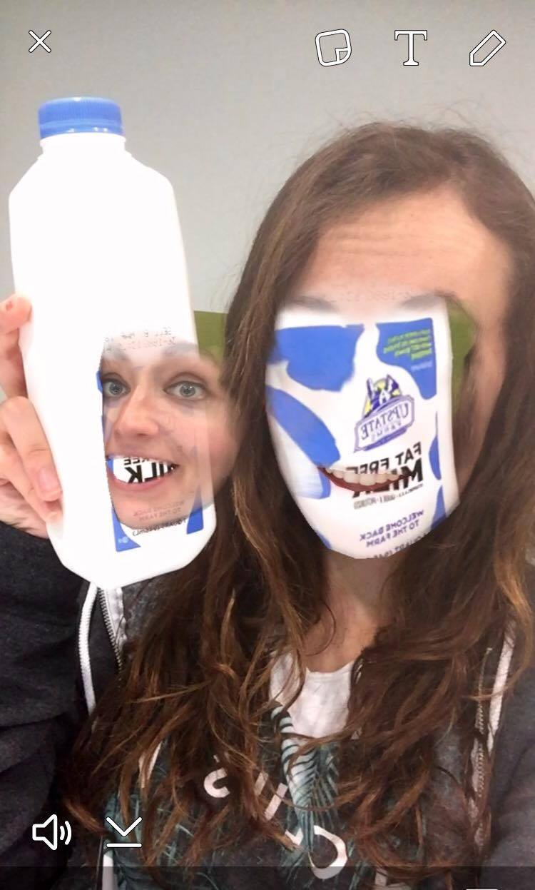 Or when you try to swap faces with a cow, but you become the milk container <<<