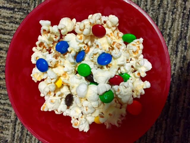Spice up your popcorn with candy