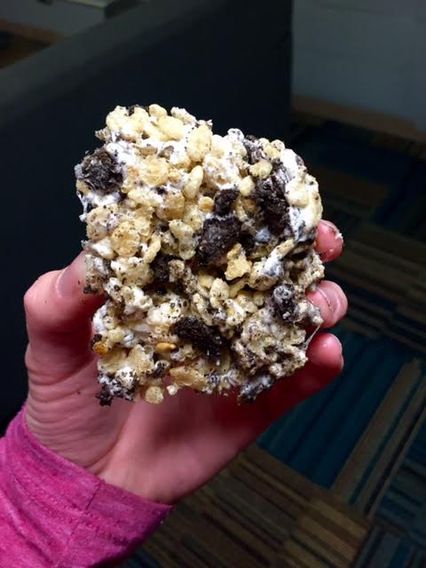 Experiment with different flavors in your rice crispy treats