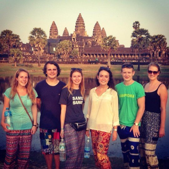 Use your travels to experience different cultures