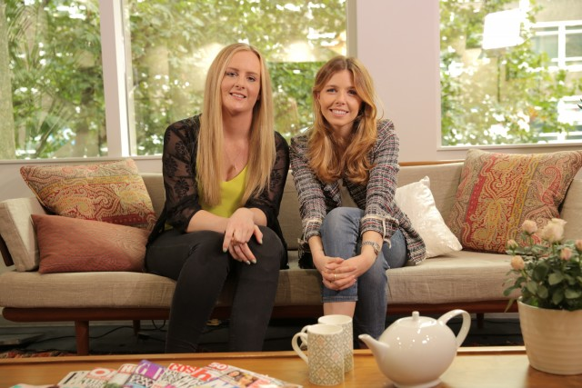 Amy Davies spoke to TV presenter, Stacey Dooley, about her experiences of meningitis