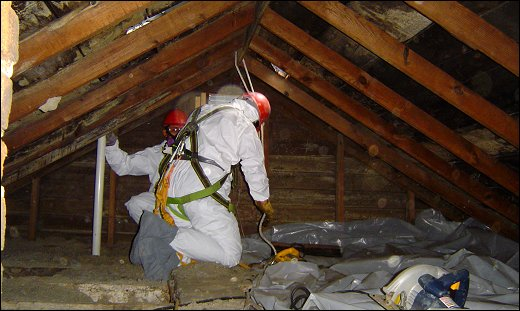 Half a million buildings contain asbestos...