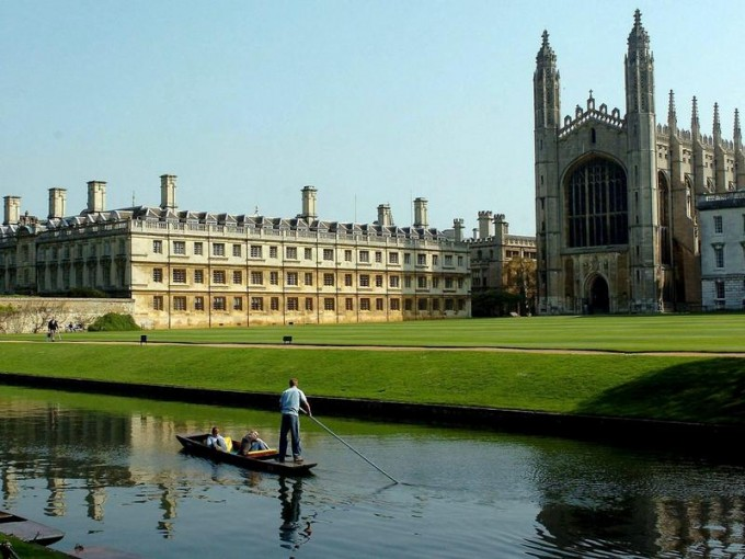 Cambridge were the top Russell Group university at 92%...