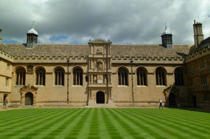From this: Wadham College, Oxford
