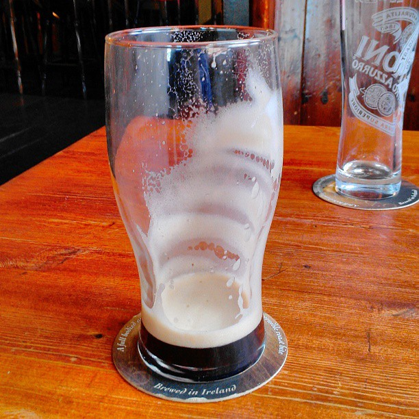 Beer today, gone tomorrow