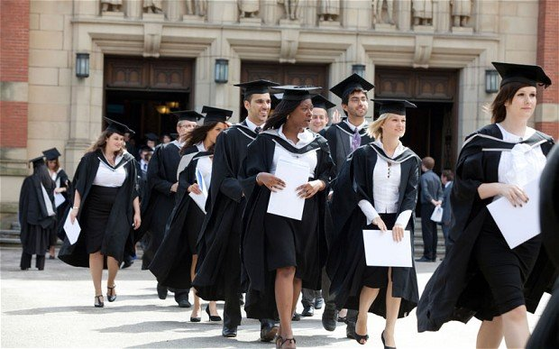 Graduates will finish uni