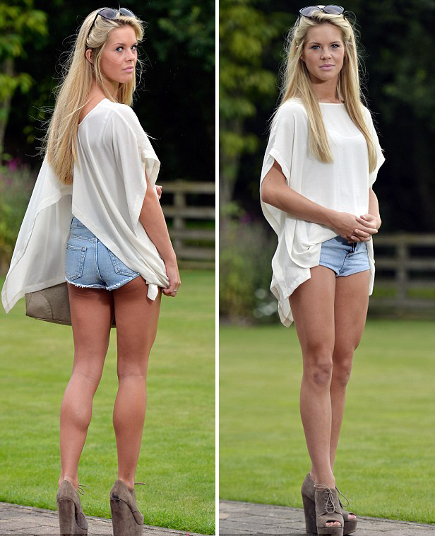 Shorts side by side