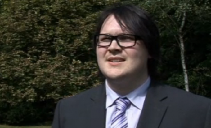 Neither Daft nor a Punk: Alan Bacon, 21, wasn't offered the job