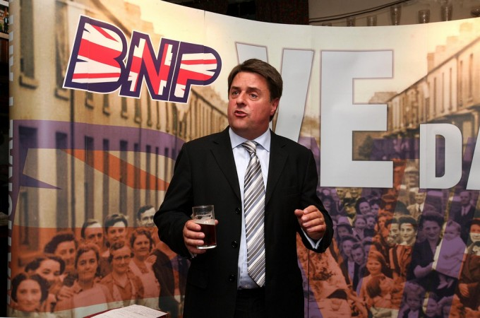 Celebrity racist: BNP leader Nick Griffin has helped fuel xenophobic attitudes