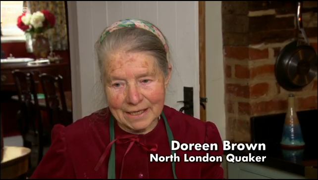 Quaking Bad: Doreen still cooks in the simple frugal ways of the Quakers...