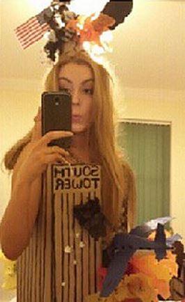 Annie's bad taste selfie
