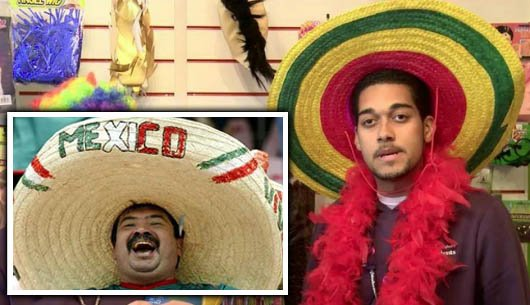 Sombrero costumes were banned by Birmingham's Students Guild