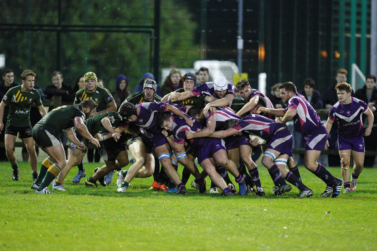 CREDIT: David Crawford // Men's Rugby Union BUCS 1 bind and drive