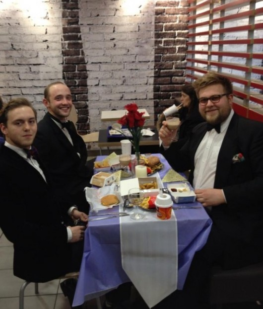 How to have a nice meal on the cheap - take your own 5 star dining experience to McDonalds