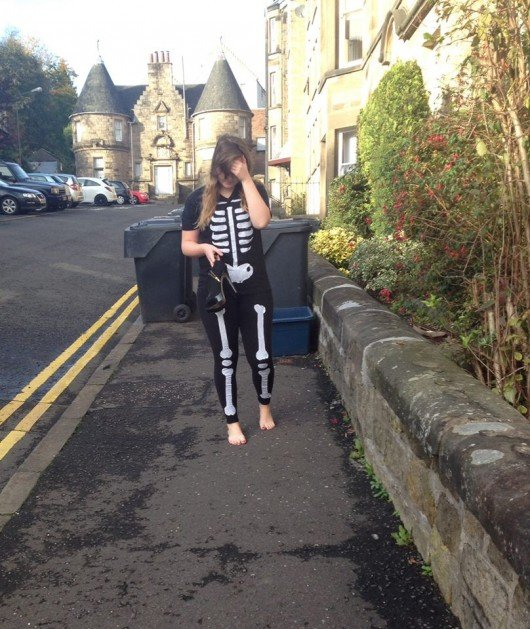 The Halloween walk of shame is one of the trickiest