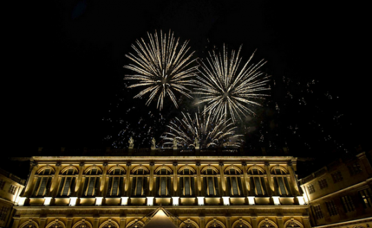 Fireworks add the wow factor, but make sure you have permission