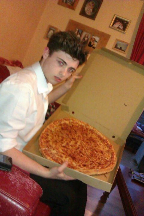 Be sure to show your convert the merits of the extra large pizza