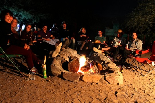 bettys campfire