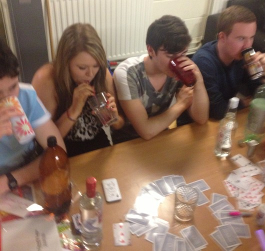 Drinking games are being targeted as a source of problems