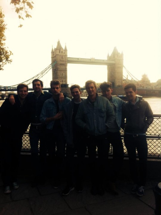 Tower Bridge? With the boys? Just another day in the LDN