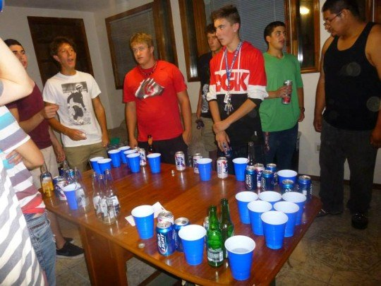 Beer pong: a staple of American house parties that needs to be more prominent here