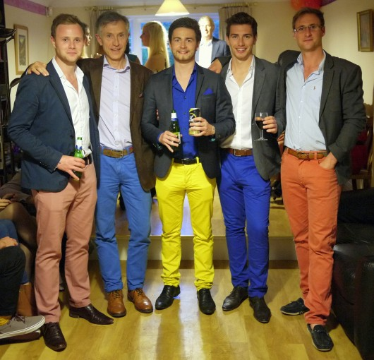 Oh yah, our chinos are totally hil-ah-rious