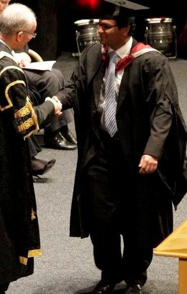 Peiris graduating three years ago