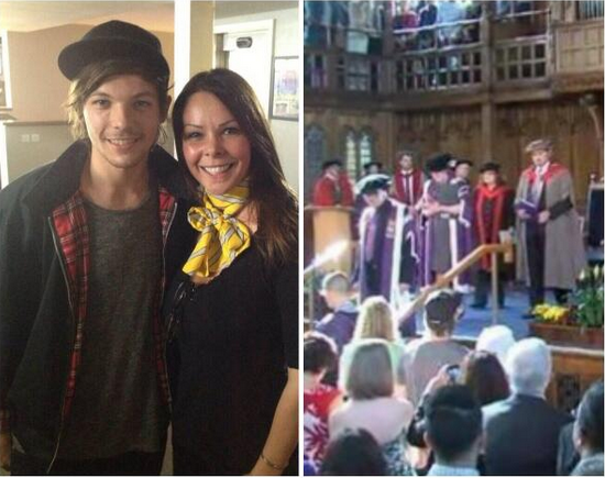 1D's Louis Tomlinson spotted at girlfriend's Manchester ...